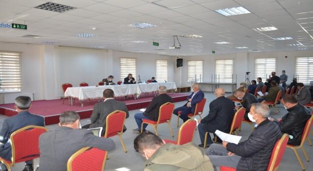 Bünyan'da 2021 yılında yapılacak yatırım ve hizmetler masaya yatırıldı