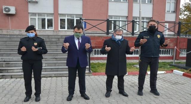 Hacılar'da Karabağ Zaferinde şehit olan Azeri Türk askerleri için dua edildi