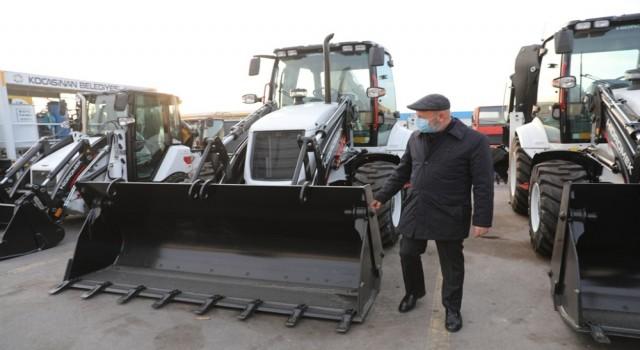 Başkan Çolakbayrakdar: Yeni araç filosuyla projeleri hızla hayata geçireceğiz