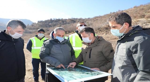 Başkan Yalçından Zincidere Göleti Mesire Alanına inceleme
