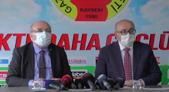 Rektör Karamustafa 10 Ocak dolayısı ile KGCye ziyarette bulundu