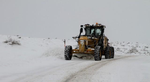 Talasta kış çalışmaları kesintisiz sürüyor