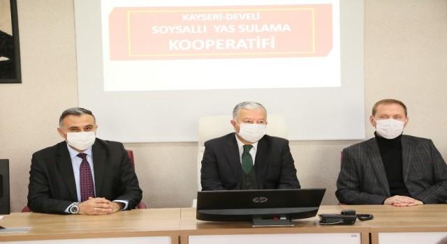 Develide DSİ Bölge Müdürlüğüyle yatırımlar toplantısı yapıldı