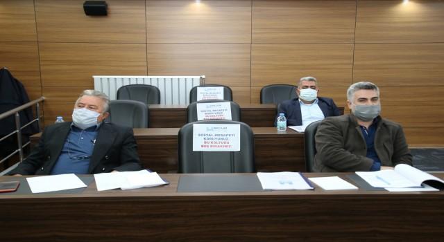 Hacılar Belediyesi Nisan ayı Meclis Toplantısı yapıldı