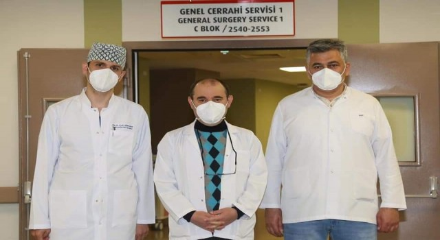 Kayseri Şehir Hastanesinde bir ilk: kapalı yöntemle yemek borusu kanseri ameliyatı yapıldı