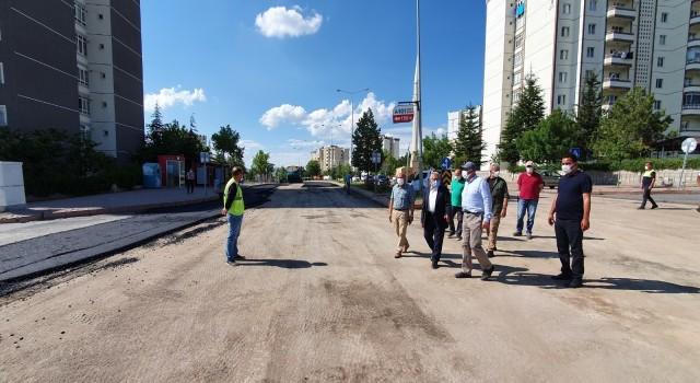 Beyazşehir mahallesine 5 bin ton asfalt
