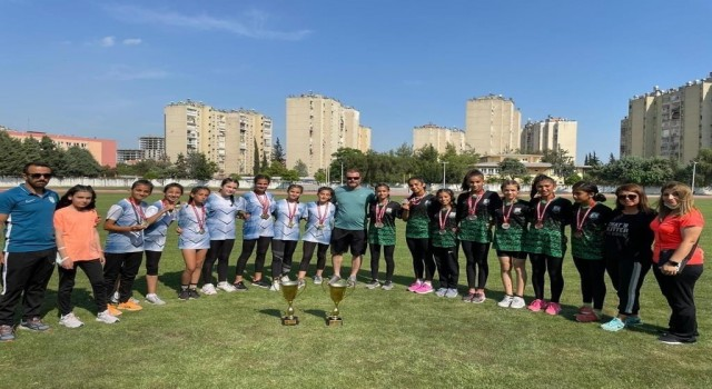 Kayserili atletler Adanada 4 madalya kazandılar