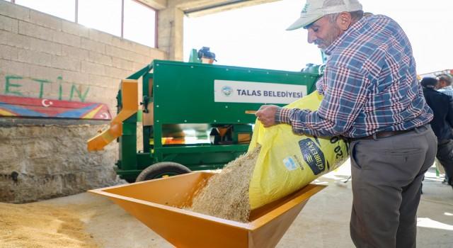 Başkan Yalçının tarıma desteği sürüyor