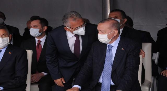 Büyükkılıç, Kırşehirde Cumhurbaşkanı Erdoğan ile görüştü