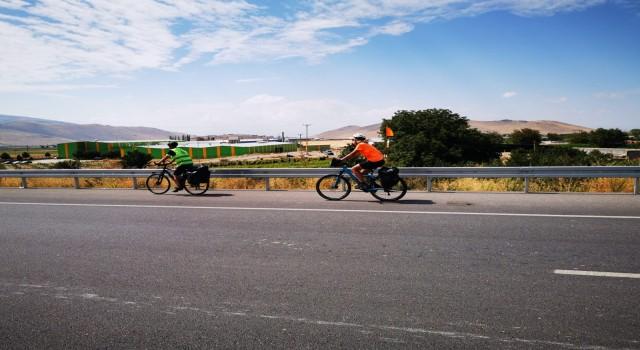 Mevlana Bisiklet Rotası Seyyahları Yahyalıdan geçti