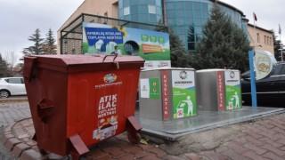 Çevreci Belediyenin atık ilaç toplama noktalarıyla doğaya büyük katkı