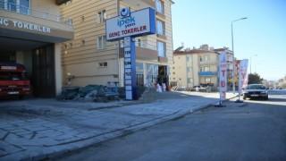 Develi Hadi Bey Caddesindeki yaya yolu çalışmasında sona gelindi