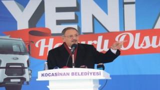 AK Parti Genel Başkan Yardımcısı Mehmet Özhaseki, 400-500 dükkan yıktık