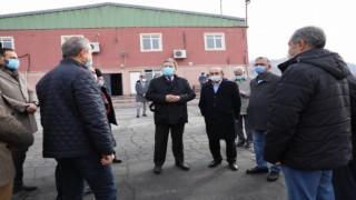 Başkan Palancıoğlu meclis üyelerine geri dönüşüm tesisini gezdirdi