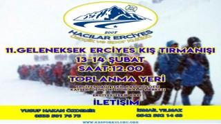 11.Geleneksel Uluslararası Hacılar Erciyes GSK Kış Erciyes Zirve Tırmanışı