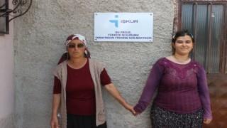 Engelli vatandaş İş-Kur desteği ile iş sahibi oldu