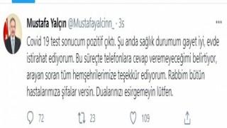 Mustafa Başkan, korona illeti sizi mi buldu?