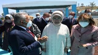 Başkan Büyükkılıç, Ankarada Emine Erdoğan ve Bakan Pakdemirli ile görüştü