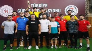 Kayseri Şekerspor; Serbest Stil 2. Lig müsabakalarında üçüncü oldu