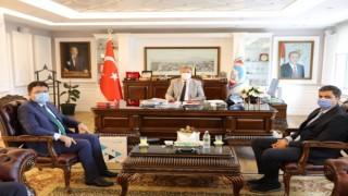 Türk Telekomdan Başkan Palancıoğluna ziyaret