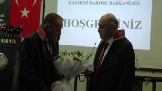 Kayseri Barosunda devir teslim töreni
