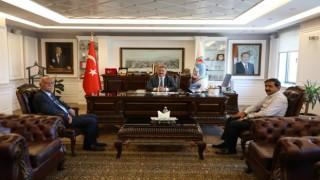 Kayseri Cem Evi yönetiminden Başkan Palancıoğluna ziyaret