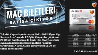 Kayserispor - Galatasaray maçının bilet fiyatları belli oldu