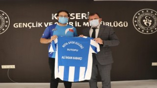 Rota Spor Kulübü Sutopu takımından Kabakcıya ziyaret