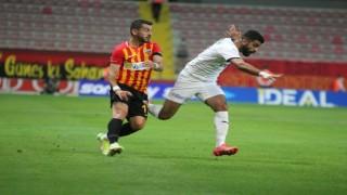 Süper Lig: Kayserispor: 1 - Kasımpaşa: 0 (İlk yarı)