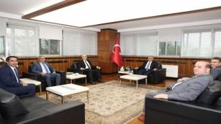 Baro başkanı Köse ve yönetiminden Başkan Büyükkılıça ziyaret
