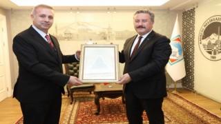 Melikgazi İlçe Müftülüğünden Başkan Palancıoğluna ziyaret