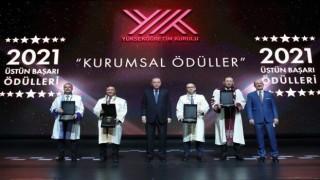 TURKOVACı geliştiren ERÜye Cumhurbaşkanı Erdoğandan ödül
